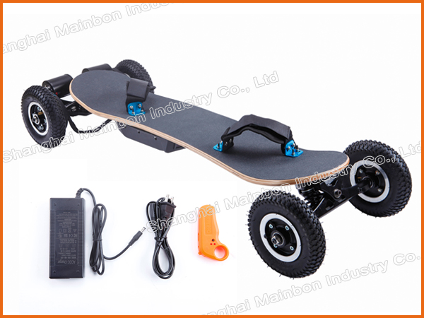 Popular style outdoor sport 2000W off road electric skateboard