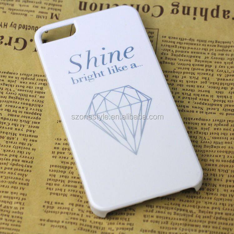 Custom own brand logo hot stamping print OEM phone case cover