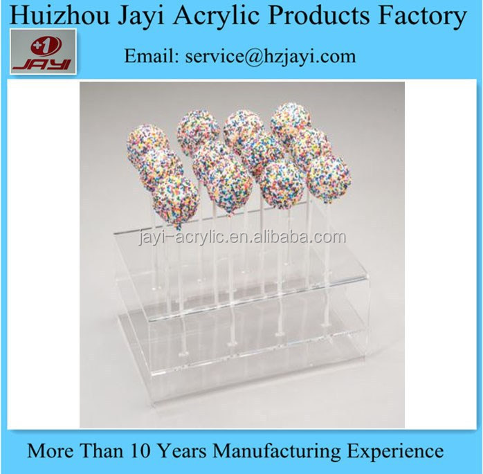 Factory wholesale acrylic lollipop cake pop display stand