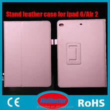 New Arrival Leather Case Tablet Protective Case 9.7 Inch Protective Back Stand Design Flip Case For Ipad 6