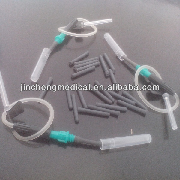 medical rubber sleeve for blood collection set with high quality