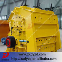 Heavy duty impact crusher with long-life endurance