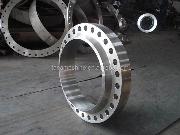 carbon steel A105 RF stainless steel weld neck flange and bolts, nuts and washers
