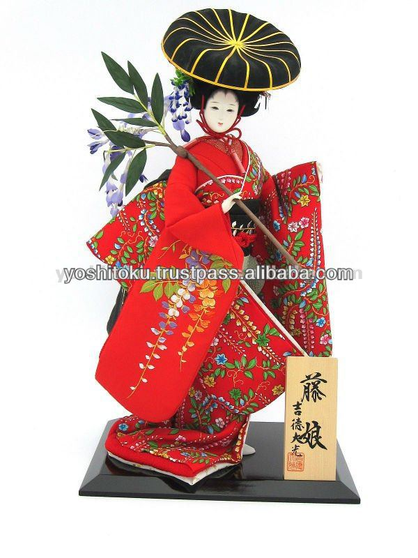 Tourist items Japanese dolls pretty things gift items Fujimusume