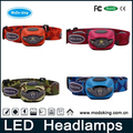 Factory Outdoor Waterproof High Power AAA Battery LED Camping Headlamp