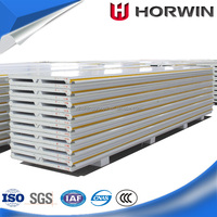 stainless checker PU sandwich panel for roof