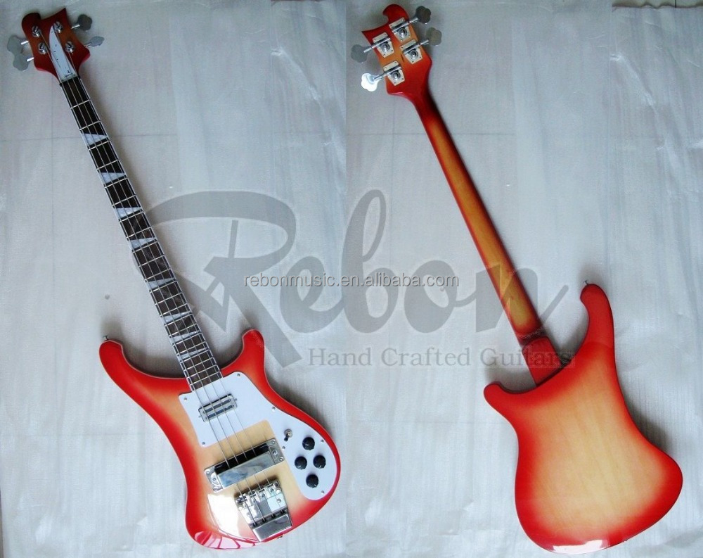 Weifang Rebon 4 string ricken electric bass guitar in good quality