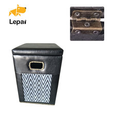 LP-P0052 Good Design Rest Metal Changing Shoes Stool