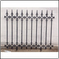 Hot selling excellent quality OEM-service cast iron fence panels ZX-ZTHL009