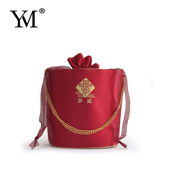 100% manufacturer satin custom bags,new arrival custom luxury satin cosmetic bag