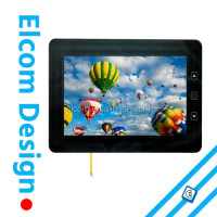 Resistive or Capacitive Touch Screen with IP65