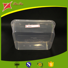 High quality wholesale Clear PVC hard plastic packaging box food packaging boxes