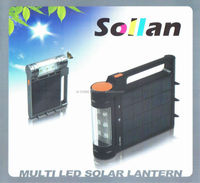 Portable rechargeable Solar lantern