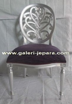 Ornate Dining Chair - Chair in Living Room Sofas - Mahogany Jepara Furniture