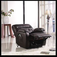 2017 Lift Chair Easy Comfort Recliner Rising Electric Power leather chair