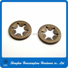 Different types of star lock washers