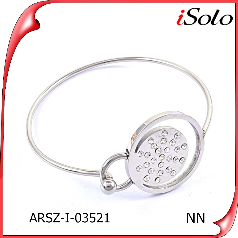 chinese wholesaler jewelry ladies stainless steel cheap charm bracelets