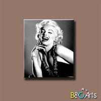 new arrival stretched printed modern sexy women portrait painting, marilyn monroe canvas printing