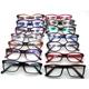 assorted ready mixed stock CP plastic injection optical eyeglass frames eyewear