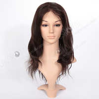 indian human hair natural hairline full lace wigs freestyle part