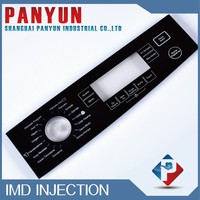washing machine IMD/IML plastic control panel,beko supplier
