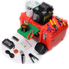 ORIENTEK Fibre Optic Fusion Splicer & OTDR Combo Kit Include T37 Fiber Fusion Splicing Machine & SM OTDR 1310/1550nm