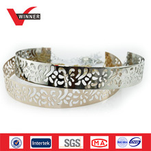 2015 New arrival fashion gold metal belts for women