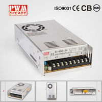 Factory sell CE constant voltage single output AC DC switching 33A 400W 12V 220V DC smps power supply circuit