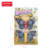 zhorya 2pcs children plastic pull back insect butterfly toy with lighting eyes