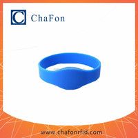 nfc watch made by silicon material with waterproof function used for access control