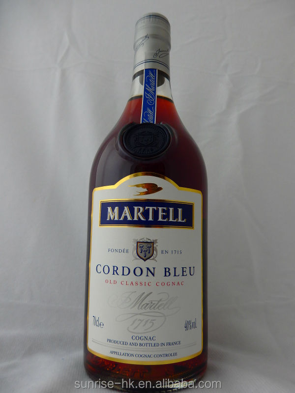 The Martell Cordon Bleu Cognac