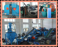 Waste Rubber Tyre Recycle Machine/Used Tyre Recycling Plant/Waste Tyre Steel Wire Bead Extractor