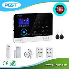 868mhz WIFI+3G smart home alarm system kits,dual network LCD security alarm system,wireless wifi alarm system kits with CE/RoHS