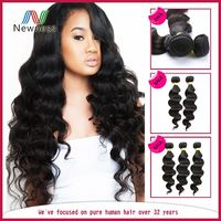 Tangle Free No Shedding Dyeable Low Price remy unprocessed wholesale virgin brazilian hair