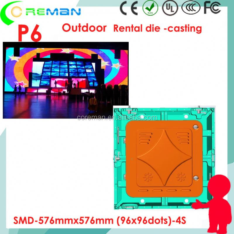 free x video 1080p full hd led screen p6 xxxx , foldable led screen p4.8 p3.9 , CE UL led advertising screen outdoor p4