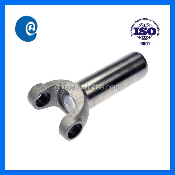 Universal joint drive shaft slip yoke sliding drive shaft