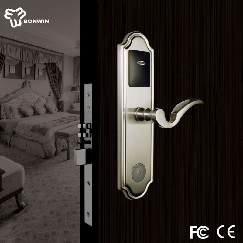 Alibaba online shopping safe inductive card lock with alarm system