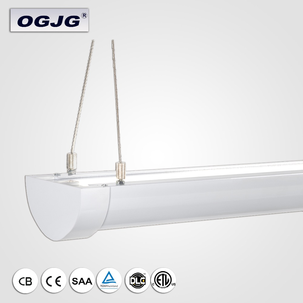 indoor commercial lighting CE SAA ETL approved aluminum suspended mounted Linear office SMD strip led up and down light