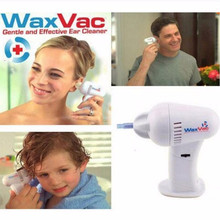 TV Electric Waxvac Cleaner Kid Baby Child Ears Cleaning Device