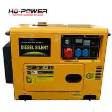 low price 5000 watt 5kw diesel silent generators price