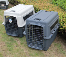 Plastic Standard pet airline cage/dog transport cage 50*32*32