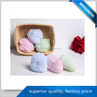 natural Soft & Health heart shape kids bath sponge with low price