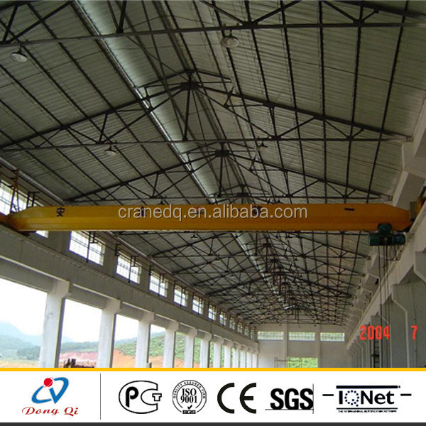 LD Model Monorail Single Beam 5 Ton Bridge Crane Price