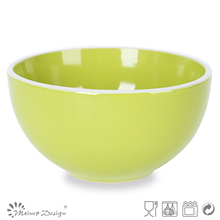 high quality dessert Handmade wholesale antique fruit stoneware bowl with low price from china