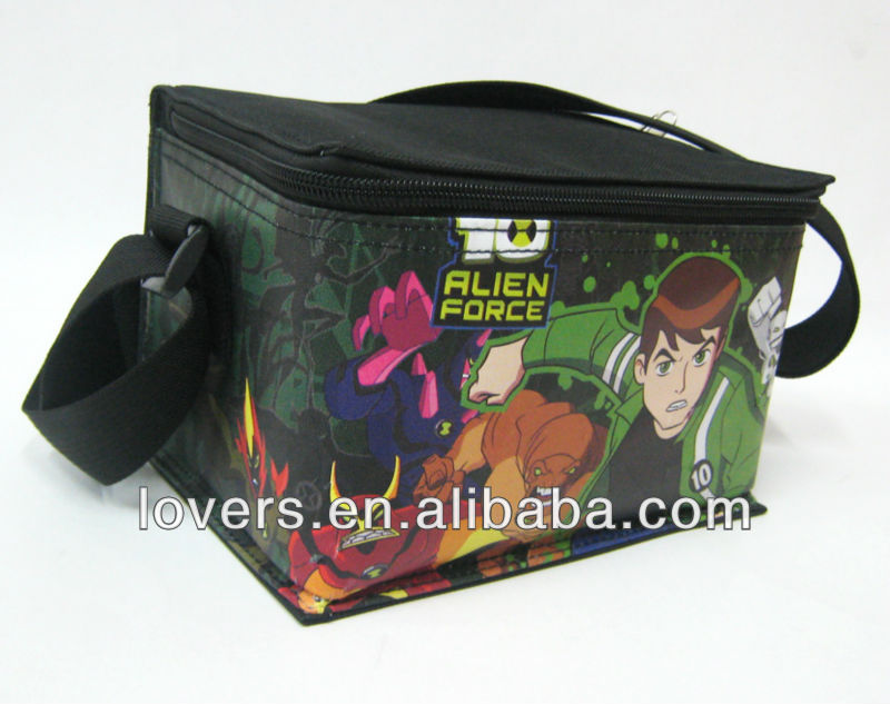 clear plastic cooler bag with cartoon