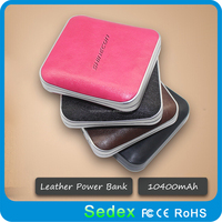 Small but Big Capacity! Fashion Smart mobile portable power bank 10000mah with CE,RoHS,FCC certificate for successful man/women