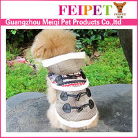 Europe style dogs apparel/Monkey design pet coat