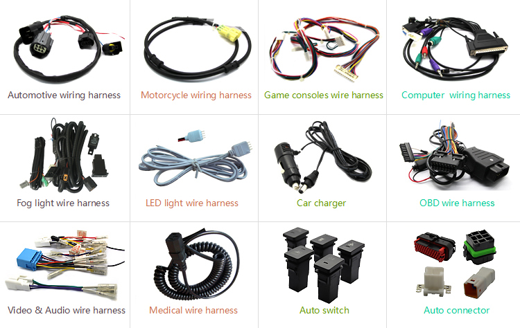 ECU automotive wire harness manufacturer