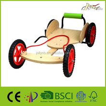 Birch Plywood Wooden Go Cart for Child Exercise
