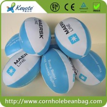 Customized promotional mini size soft rugby balls
